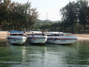 Koh Phi Phi Tour: Boats are ready