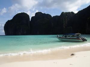 Phi Phi Island: the popular Maya Bay