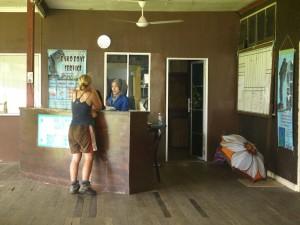 Bako Boat Service counter