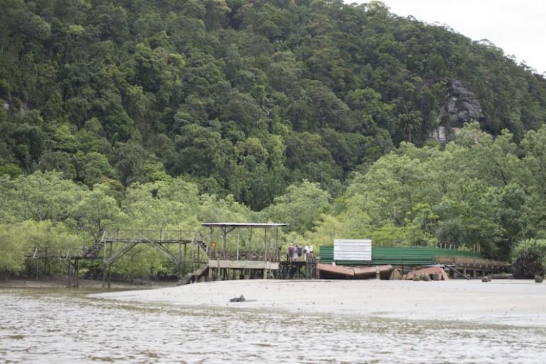 Bako National Park jetty