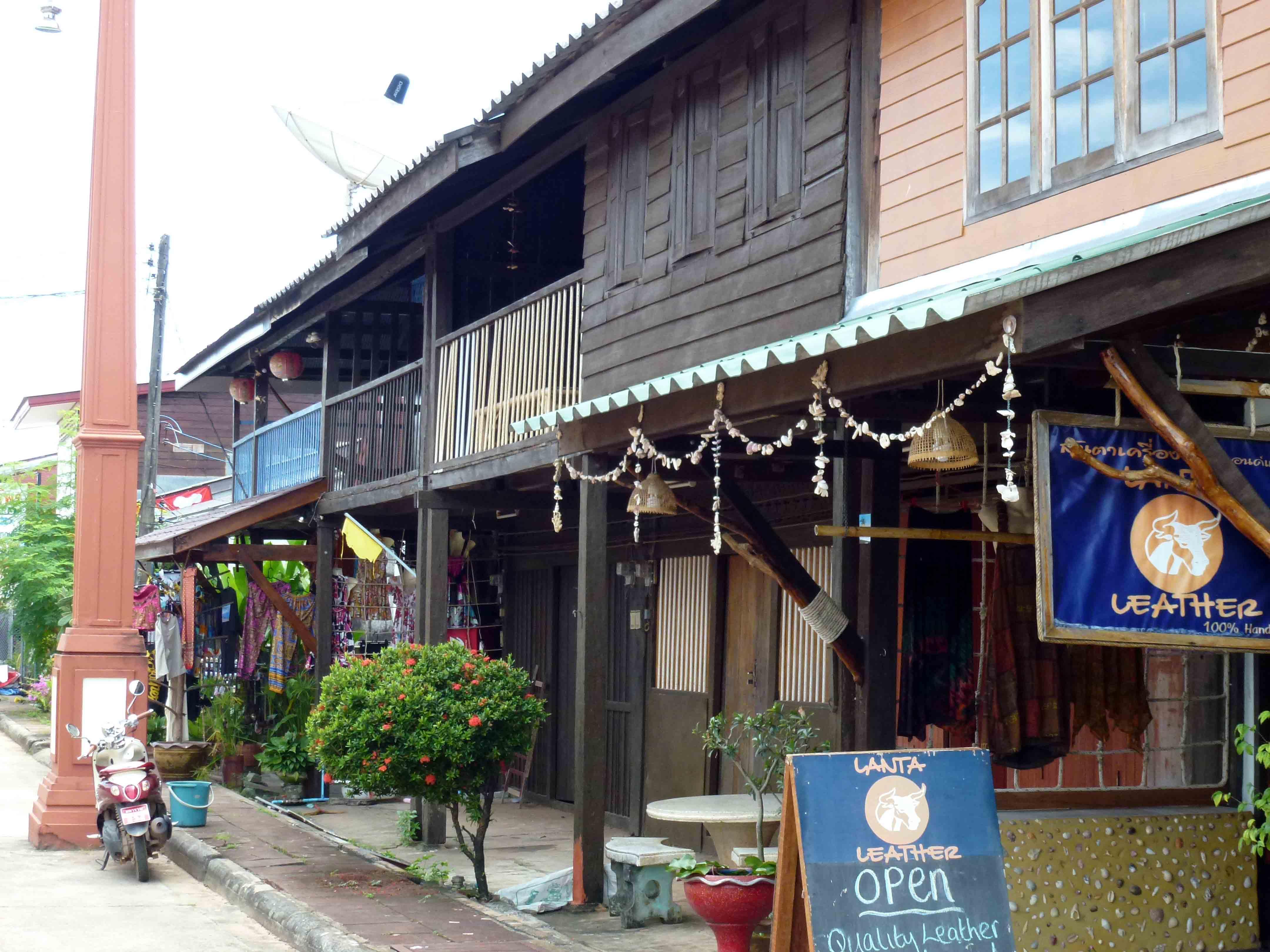 Lanta old town: a fishing village located on Lanta Yai side waterfront
