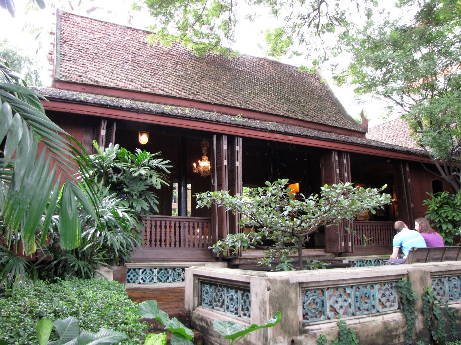 Jim thompson an architect an entrepreneur an art for The thompson house
