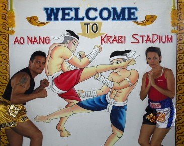 Thai Boxing: watch them fighting in Ao Nang