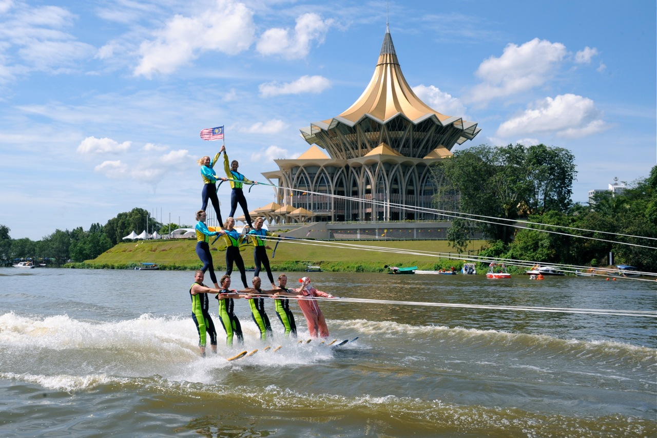 have you ever come across an event called the sarawak regatta