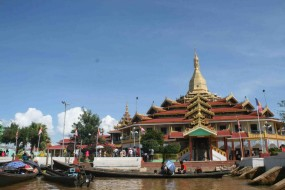 INLE LAKE – BY BICYCLE AROUND THE LAKE PART 2
