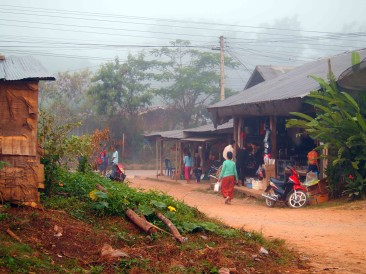 Across Laos