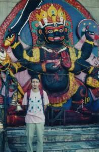 The Author at Kathmandu