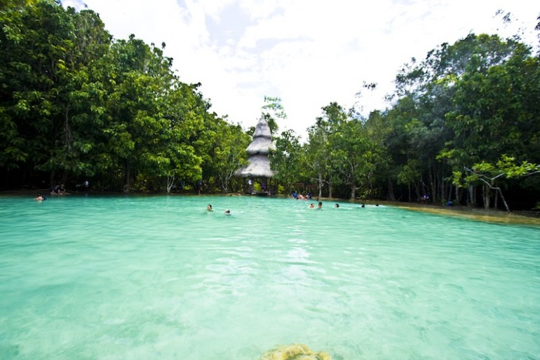 Main pool at Sa Morakot