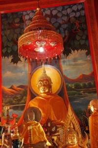 Uno dei Buddha a Wiang Kum Kam