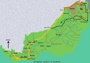 Lun Bawang Festival Map area