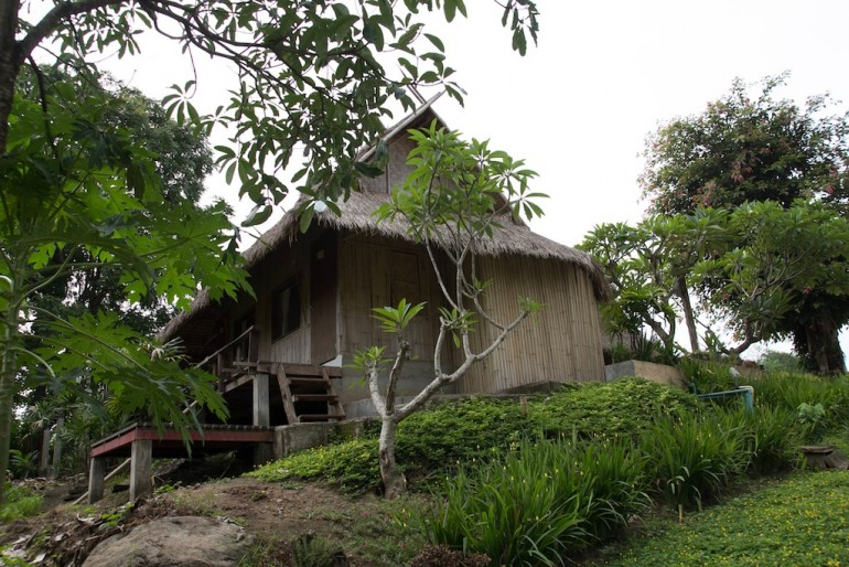 The bamboo bungalows