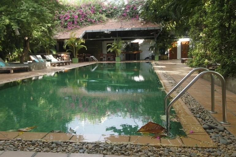 the kabuki lush pool area