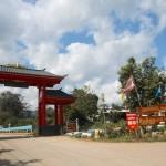 the entrance of Baan Santichon - Yunnan Cultural Village