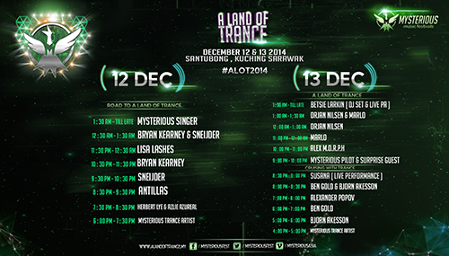 A Land of Trance 2014 program