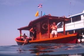 Out at sea in Koh Lanta