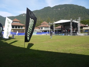 The venue at Santubong