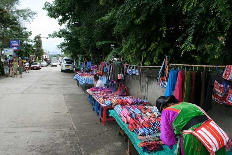 local Pai market