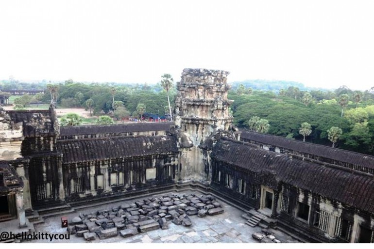 From the top of Angkor 1