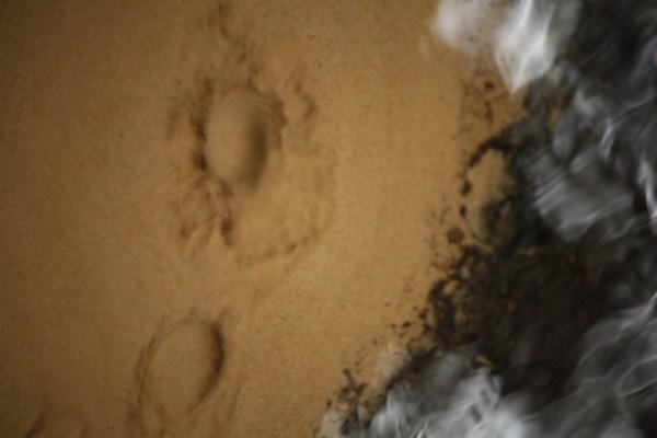 sand boils