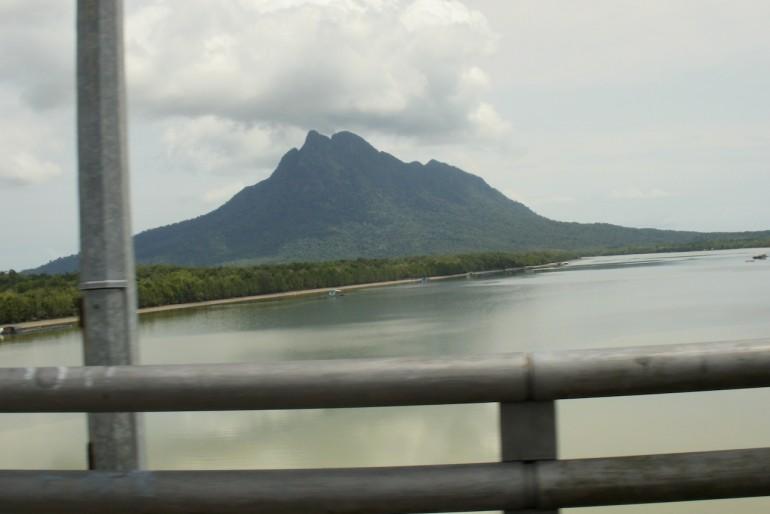 Spectacular Mount Santubong