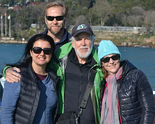 Filiz, Bill, Norm and Monique