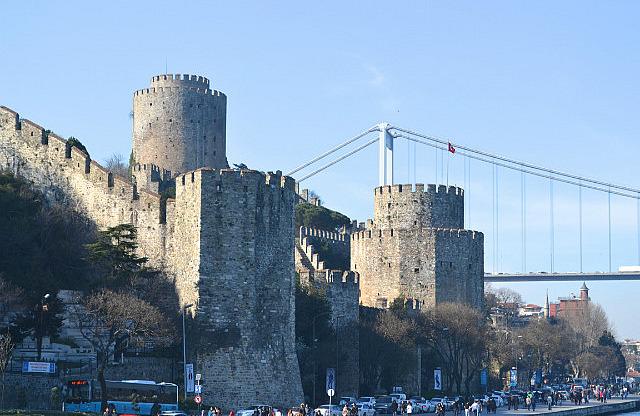 second Bosphorus bridge in the background