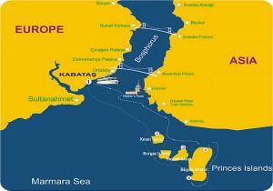 the Bosphorus strait