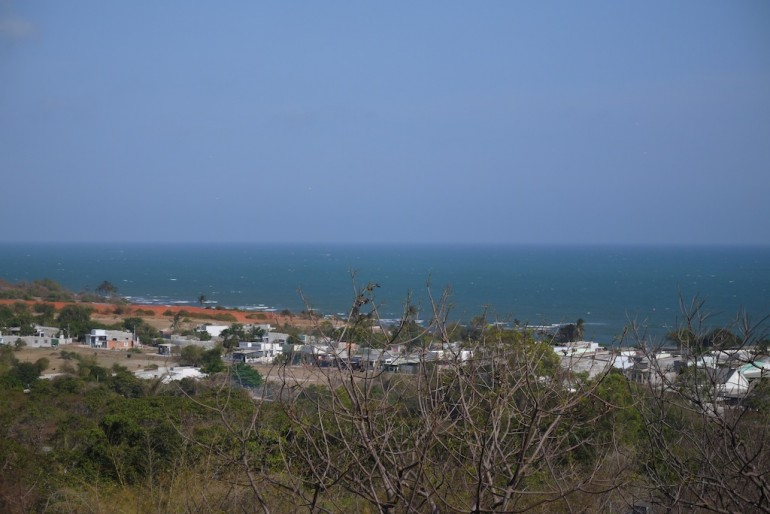 Sea view from the site