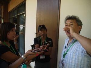 Epi shows Catohrinner the Mongolian throat singing