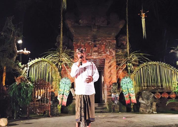 Agung Rai speaks at ARMA
