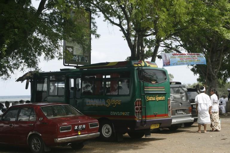 Car park at Labuan Lalang pier