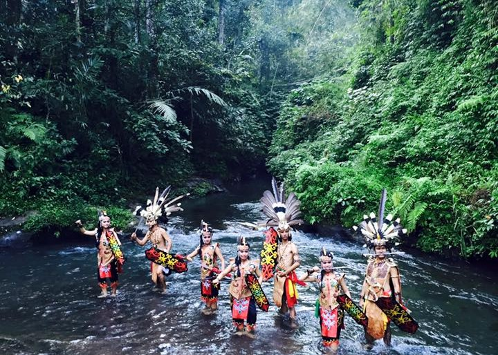 Dayak tribe