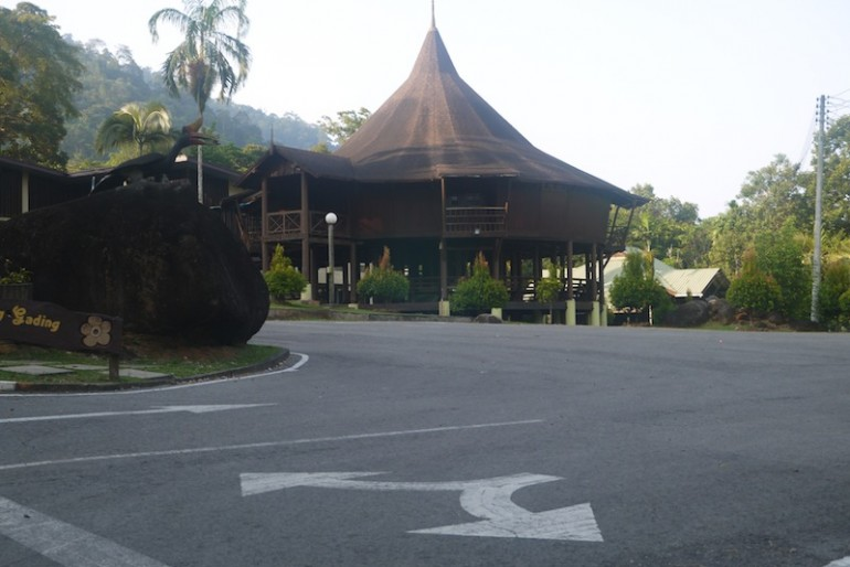 Gunung Gading national park compound
