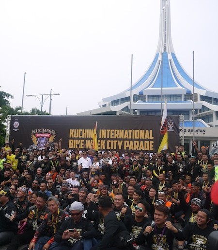 Kuching International Bike Week 2015