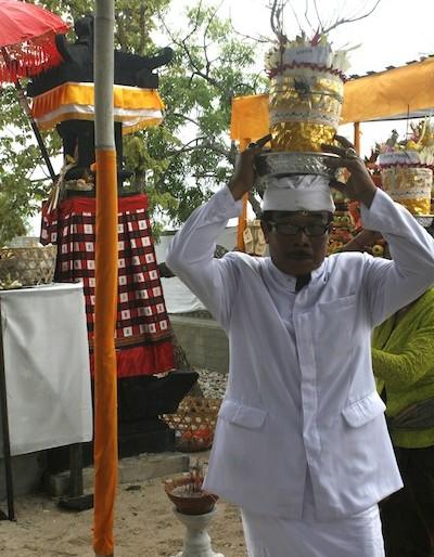 Local Hindu priest