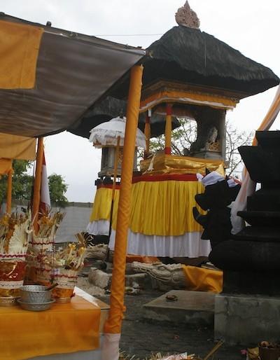 Local island temple