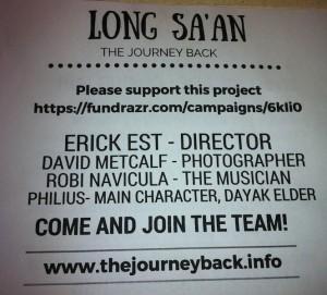 Long Sa'an leaflet
