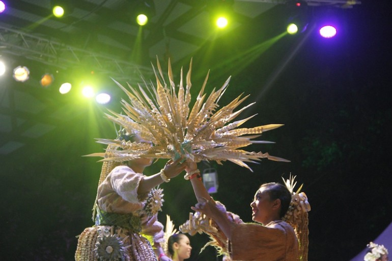 Mah Meri performing at the festival