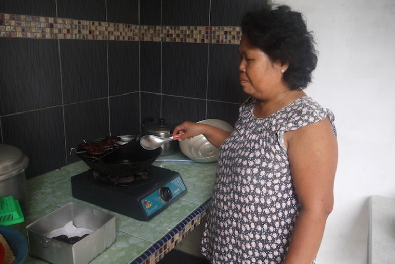 Miah cooking