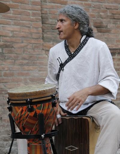Omid Bahadori skilled drumming