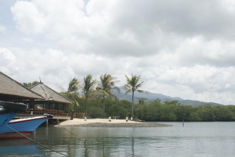 Pier near The Menjangan resort