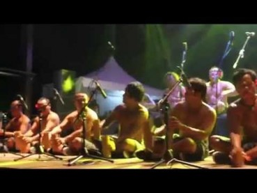 Kobagi Kecak at the Rainforest World Music Festival 2015