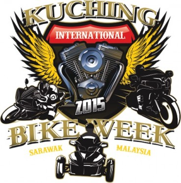 Aaron Twite at the Kuching International Bike Week (KIBV) 2015