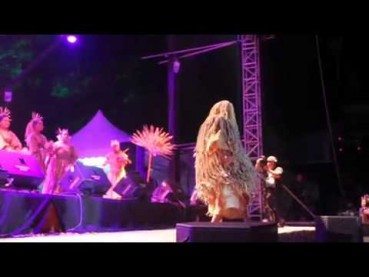 Mah Meri al Rainforest World Music Festival 2015