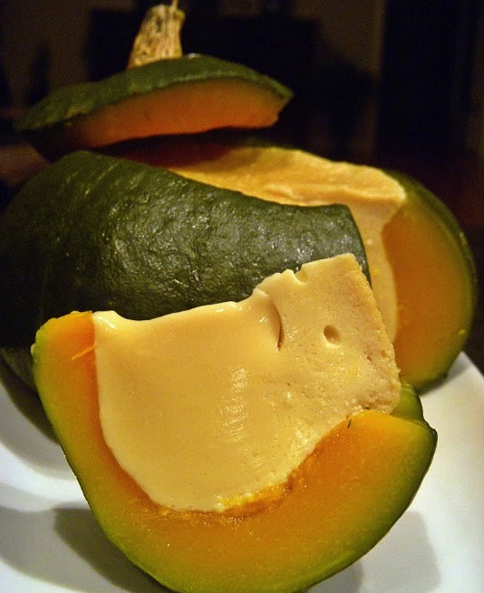 Thai Steamed Pumpkin Custard - Asian Itinerary