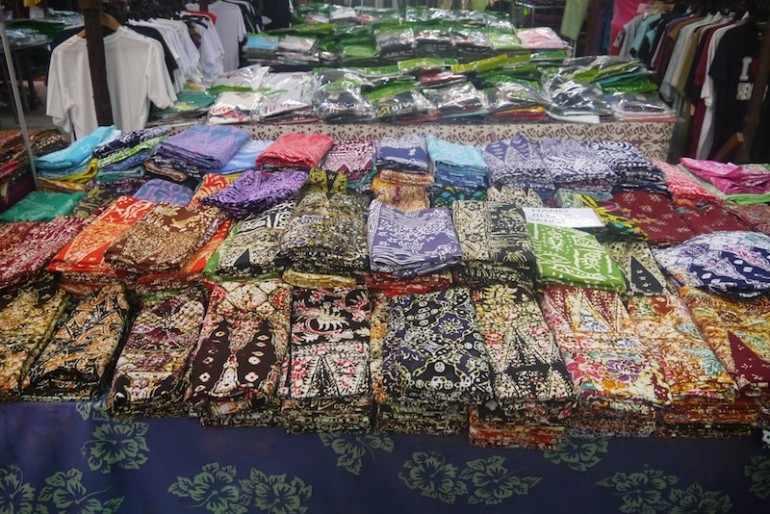 Natural Batik Village sarongs
