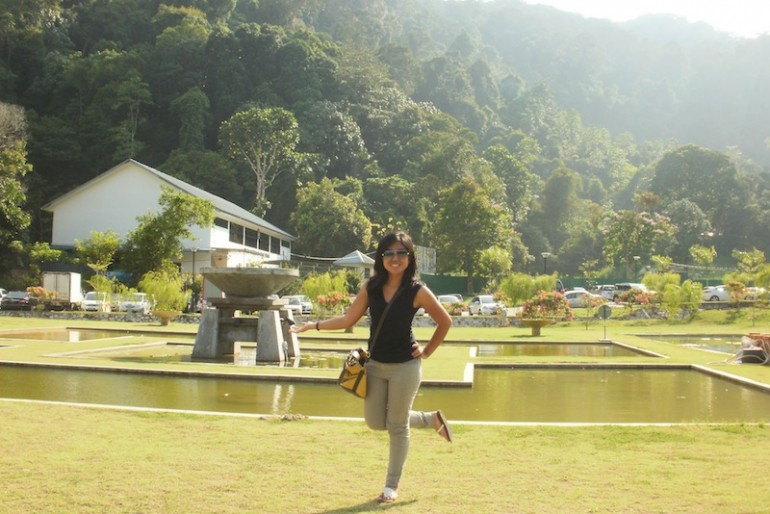 At the Botanical Garden Penang