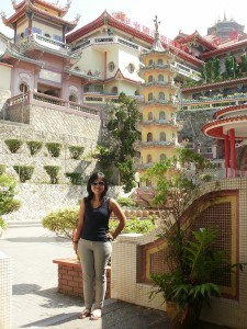 Chinese temple on top of Penang Hill