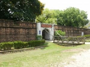 Fort Cornwallis walls