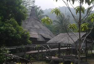 Baruk at the Sarawak Cultural Village, SCV